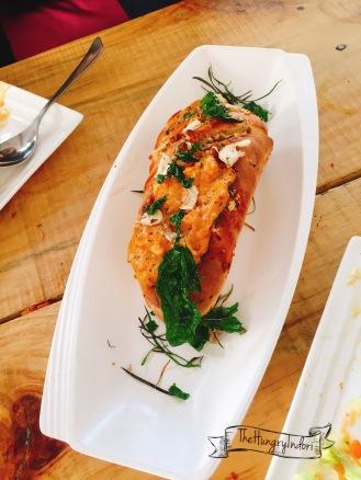 Chicken Baguette.