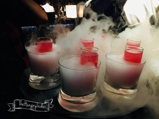 Smokey Mocktail.